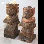 Bali Statues polychrome figures 3