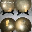 2 Chinese Bronze plates. 5