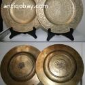 2 Chinese Bronze plates. 6