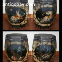 2 Chinese Wooden Containers