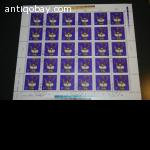 3 sheets DDR stamps 3