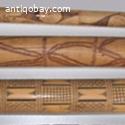 3 x Dayak flute