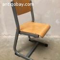 5 bijzondere vintage school stoelen