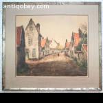 Alfred van Neste, B Print Painting Ets