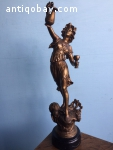 Antique French beautiful statue - FREE SHIPPING