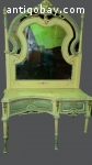 Antique make up table with removable mirror from around 1860
