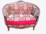 Antique sofa in Louis XVI style