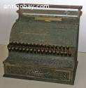 Antique Vintage Brass National Cash Register