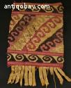 art precolombien Chimu Textile fragment