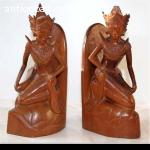 BALINESE WOOD CARVING BOOKSTAND 2