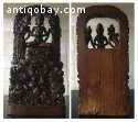 BALINESE WOOD CARVING  SCULPTURE