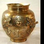Chinese Brass Pot