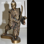 Chinese bronze Warrior