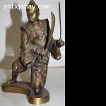Chinese bronze Warrior
