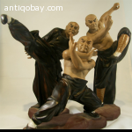 Chinese Monk in Kung Fu pose