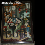 Chinese reverse glass painting 1