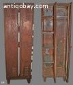 2. Fraaie roestige locker uit DDR vintage industrieel