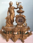 French antique clock from 1860