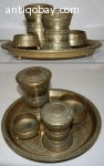 Indonesian Smoke Set 2 Brass java