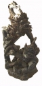 INDONESIAN WOOD CARVING  SCULPTURE  3