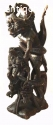 INDONESIAN WOOD CARVING  SCULPTURE 4