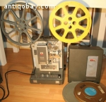 Kodak Pageant 16 mm film projector with 2 films
