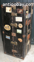Beautiful Vintage Wardrobe Steamer Trunk