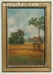 Oil painting Indie Indonesia Sudjono Abdullah