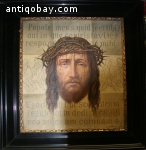 Oil Painting Jesus and Crown Of Thorns