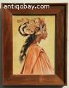 Oil Painting of Bali Woman like Hofker