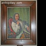 Oil Painting of Indie Indonesia