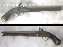 Old Dutch Flintlock Pistol