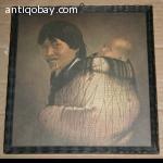 Oude Print van Indiaanse vrouw