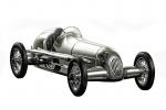 Silberpfeile Aluminium Mercedes