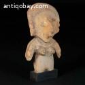 Pre Colombian female Bahia statue