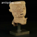 Pre-columbian head Rio Magdalena