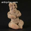 Pre-columbian Olmec seated figure