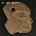 Pre-columbian stone Hacha