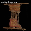 Pre-Columbian unfinished weaving