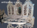 Venetian complete dining room set - 10 pieces