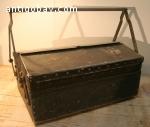 Vintage aluminium gereedschapskist