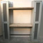 Vintage hang en leg locker speciaal model C