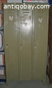 Vintage look locker groen