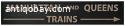 Vintage train/underground sign. 2